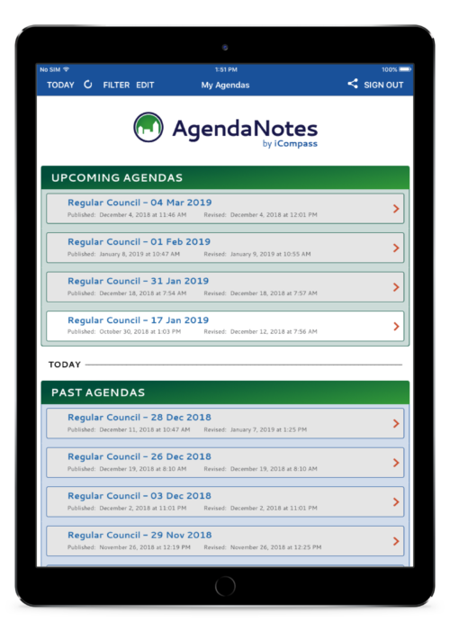 Local Government Agenda & Meeting Management Software | Diligent