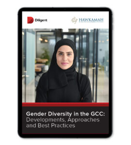 Gender diversity in the GCC report